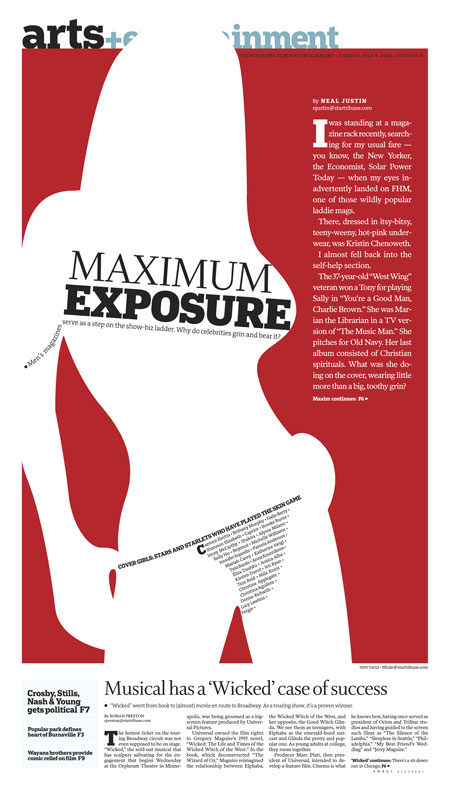 Maximum exposure