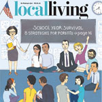 Local Living cover by Tippi Thole for The Washington Post