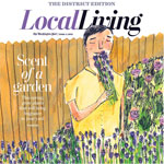 Local Living cover for The Washington Post by Tippi Thole